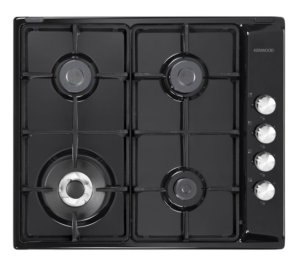 KENWOOD KHG602 BL Gas Hob - Black