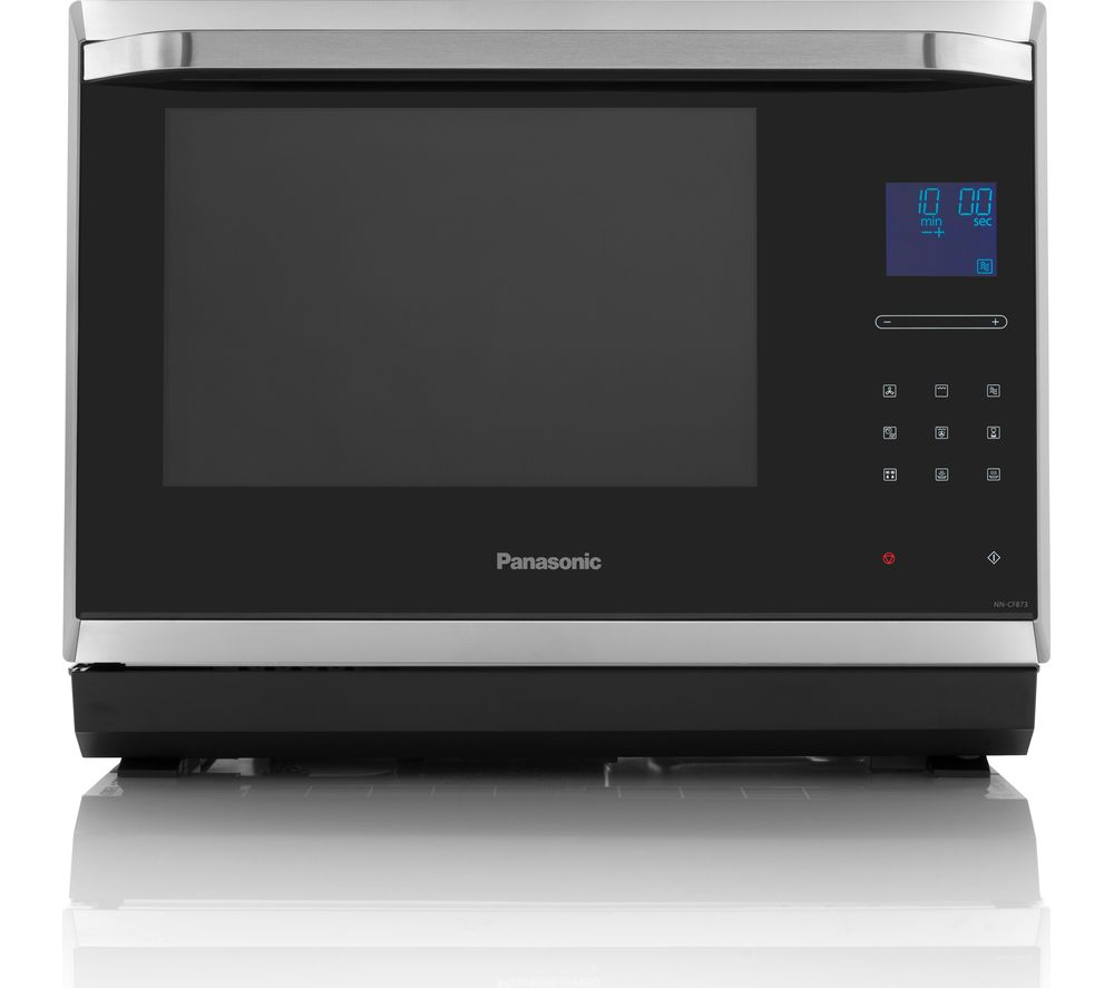 PANASONIC NN-CF873SBPQ Combination Microwave - Stainless Steel + Buckingham 20460 Jug Kettle - Stainless Steel + Buckingham 4-Slice Toaster - Stainless Steel