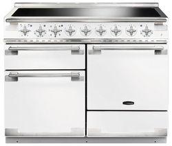 RANGEMASTER Elise 110 Electric Induction Range Cooker - White & Chrome
