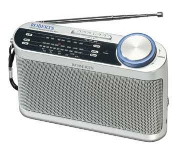 ROBERTS R9993 Portable Analogue Radio - Silver