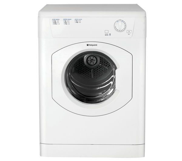 HOTPOINT First Edition FETV60CP Vented Tumble Dryer - White