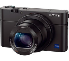 SONY Cyber-shot DSC-RX100 IV High Performance Compact Camera - Black