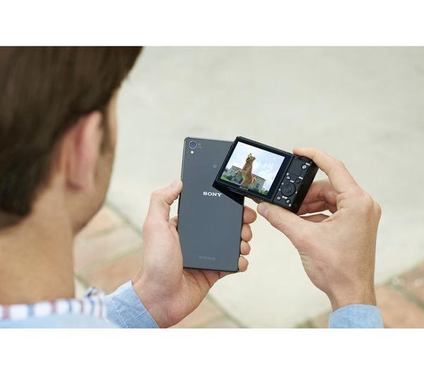 SONY Cyber-shot DSC-RX100 IV High Performance Compact Camera - Black