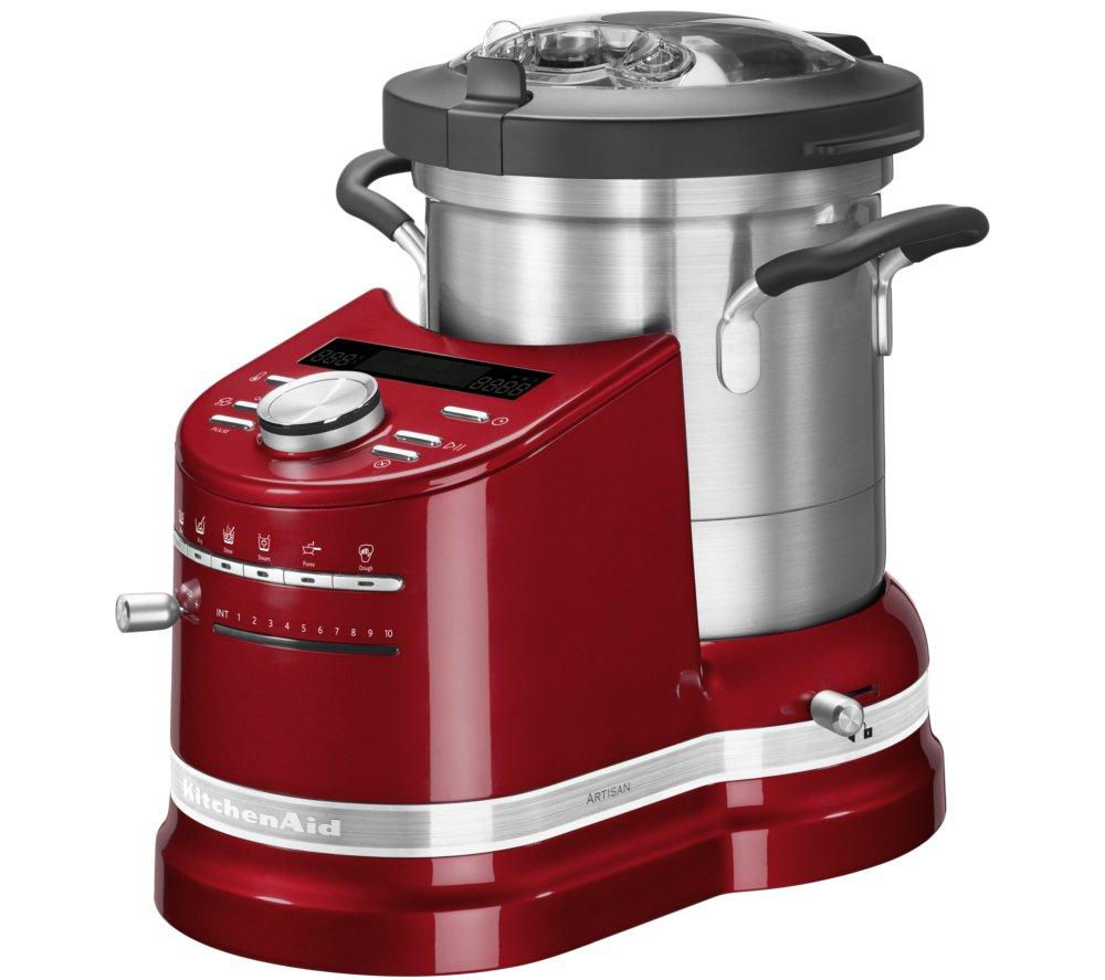 Buy Kitchenaid Artisan Cook Processor Empire Red Free