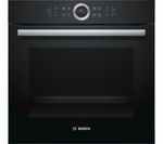 BOSCH Serie 8 HBG674BB1B Electric Oven - Black
