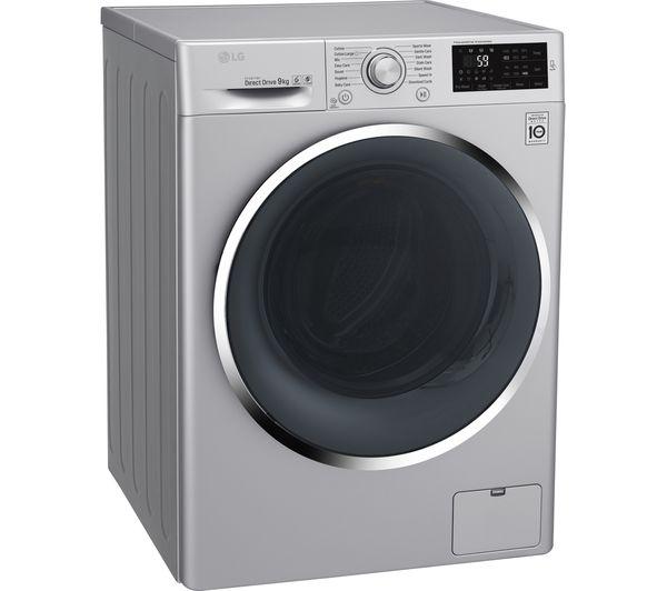 Buy Lg Fh4u2vcn4 Washing Machine Silver Free Delivery