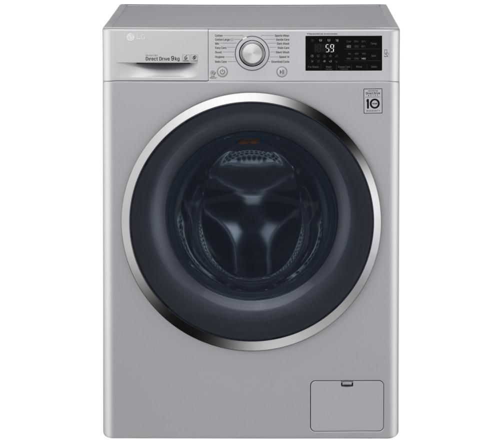 Buy Lg Fh4u2vcn4 Washing Machine Silver Free Delivery