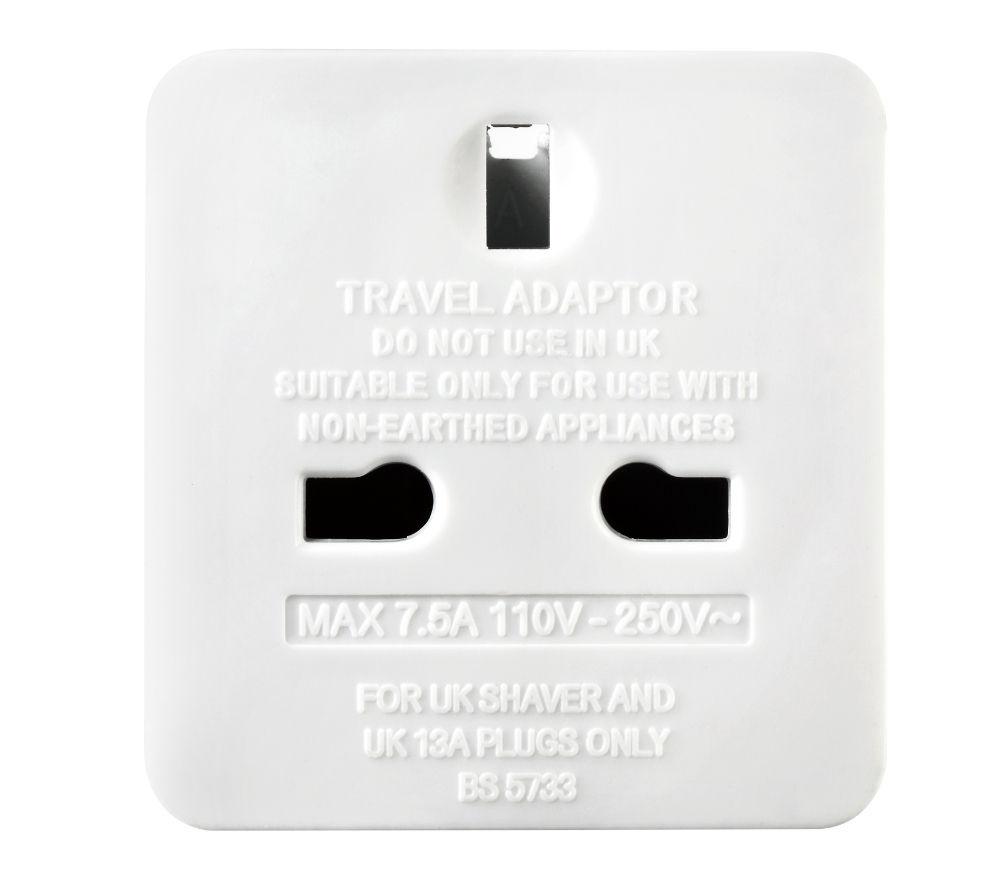 MASTERPLUG TAEUR-MP UK to EU Travel Adapter