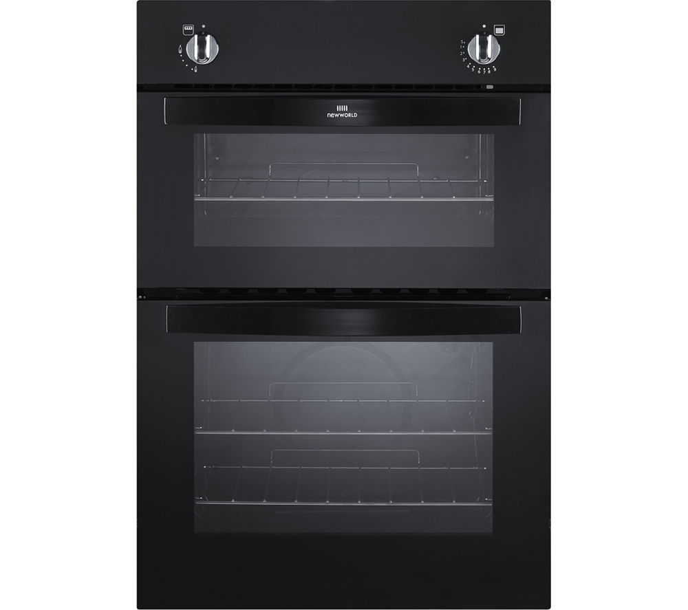 NEW WORLD NW901G Gas Oven - Black, Black