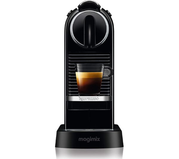 buy nespresso by magimix citiz coffee machine black free delivery currys. Black Bedroom Furniture Sets. Home Design Ideas