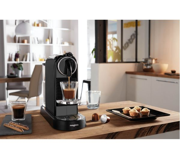 buy nespresso by magimix citiz coffee machine black. Black Bedroom Furniture Sets. Home Design Ideas