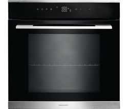 RANGEMASTER RMB610BL/SS Electric Oven - Black