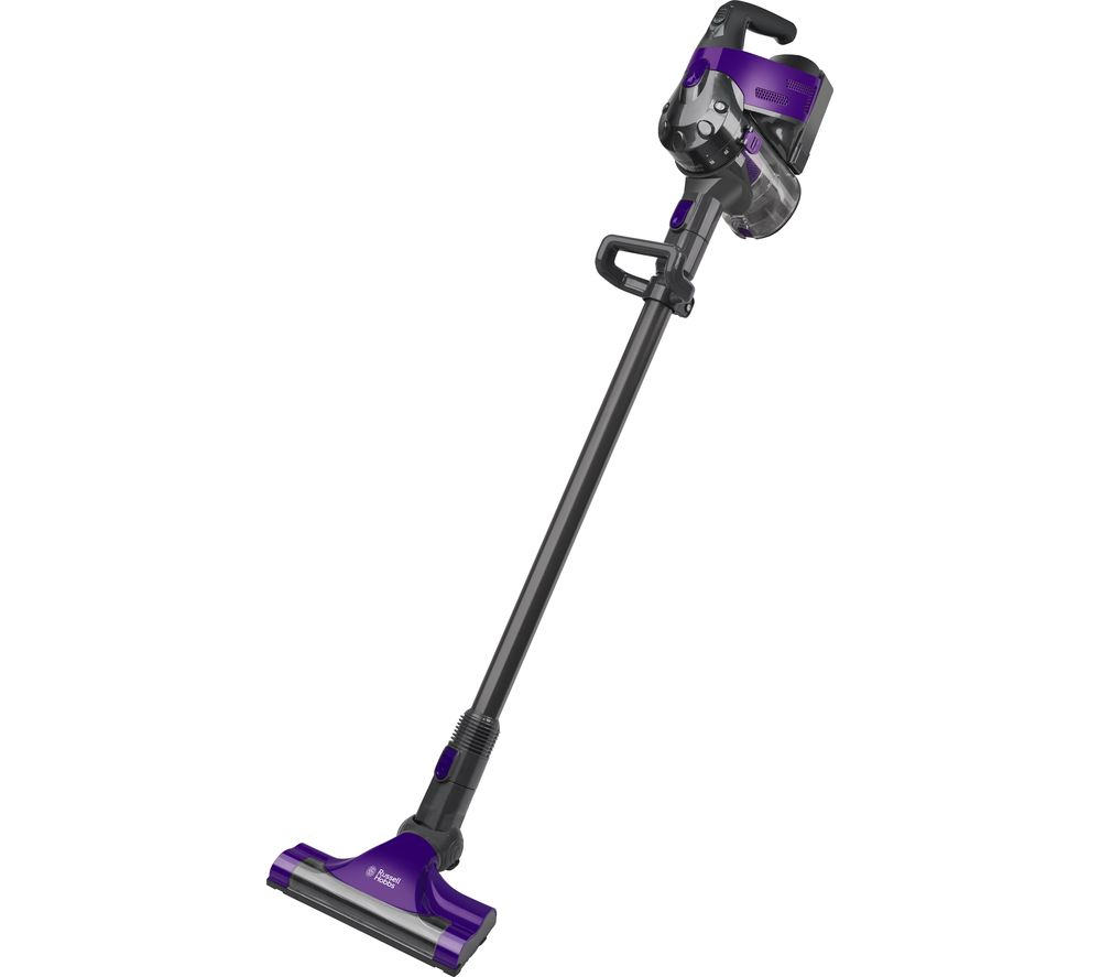 RUSSELL HOBBS RHHS2201 Cordless Vacuum Cleaner - Gunmetal Grey & Purple
