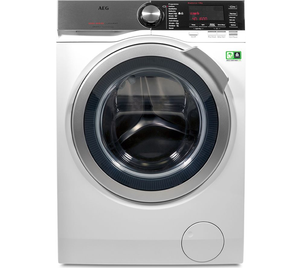 AEG OkoMix L8FEC866R Washing Machine - White