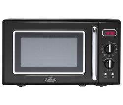 BELLING Retro FMR2080S Solo Microwave - Black