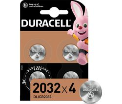 DL2032/CR2032/ECR2032 Batteries - Pack of 4