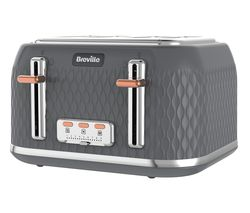 Curve VTT912 4-Slice Toaster - Granite Grey