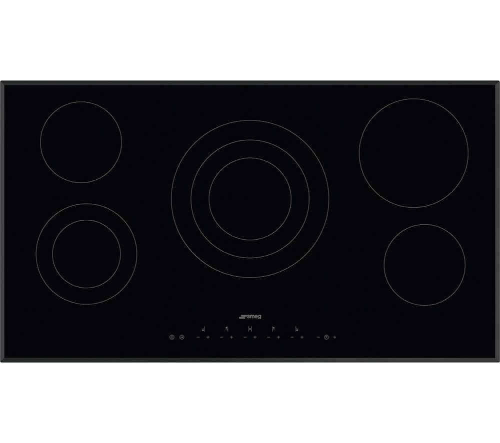 SMEG SE395ETB Electric Ceramic Hob - Black