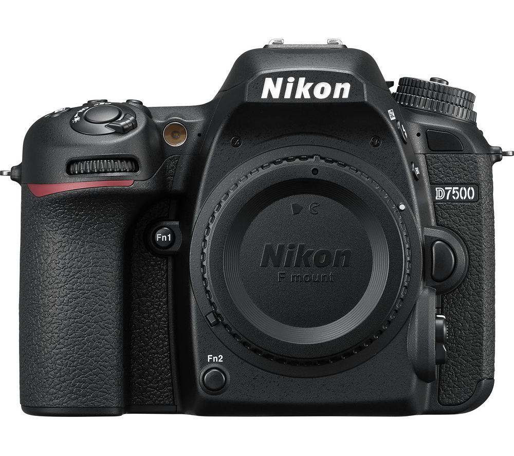 NIKON D7500 DSLR Camera - Body Only