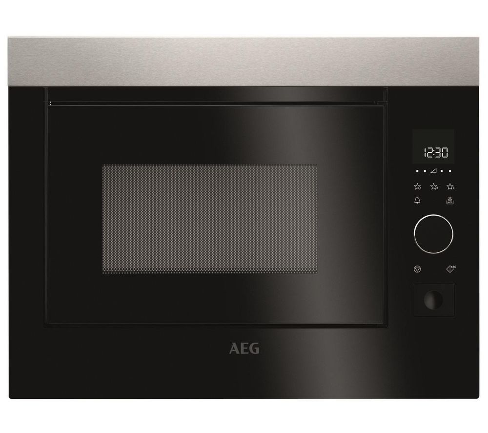 Cheapest price of AEG MBE2658S-M Built-in Solo Microwave in new is £529.00