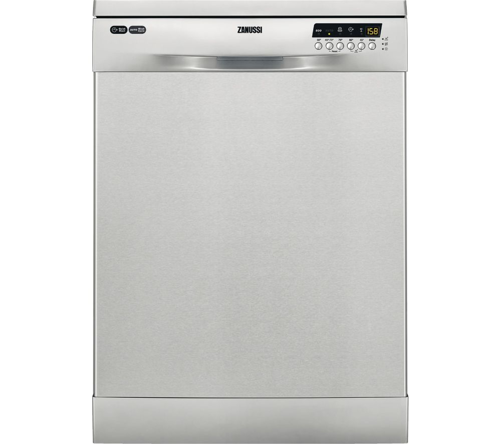 ZANUSSI ZDF26020XA Full-size Dishwasher - Stainless Steel
