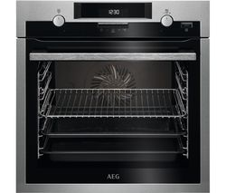 AEG SteamBake BCS551020M Electric Oven - Stainless Steel