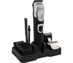 WAHL Deluxe Grooming Station 9854-800 Body Groomer - Black & Silver