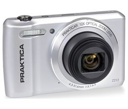 PRAKTICA Luxmedia Z212-S Compact Camera - Silver