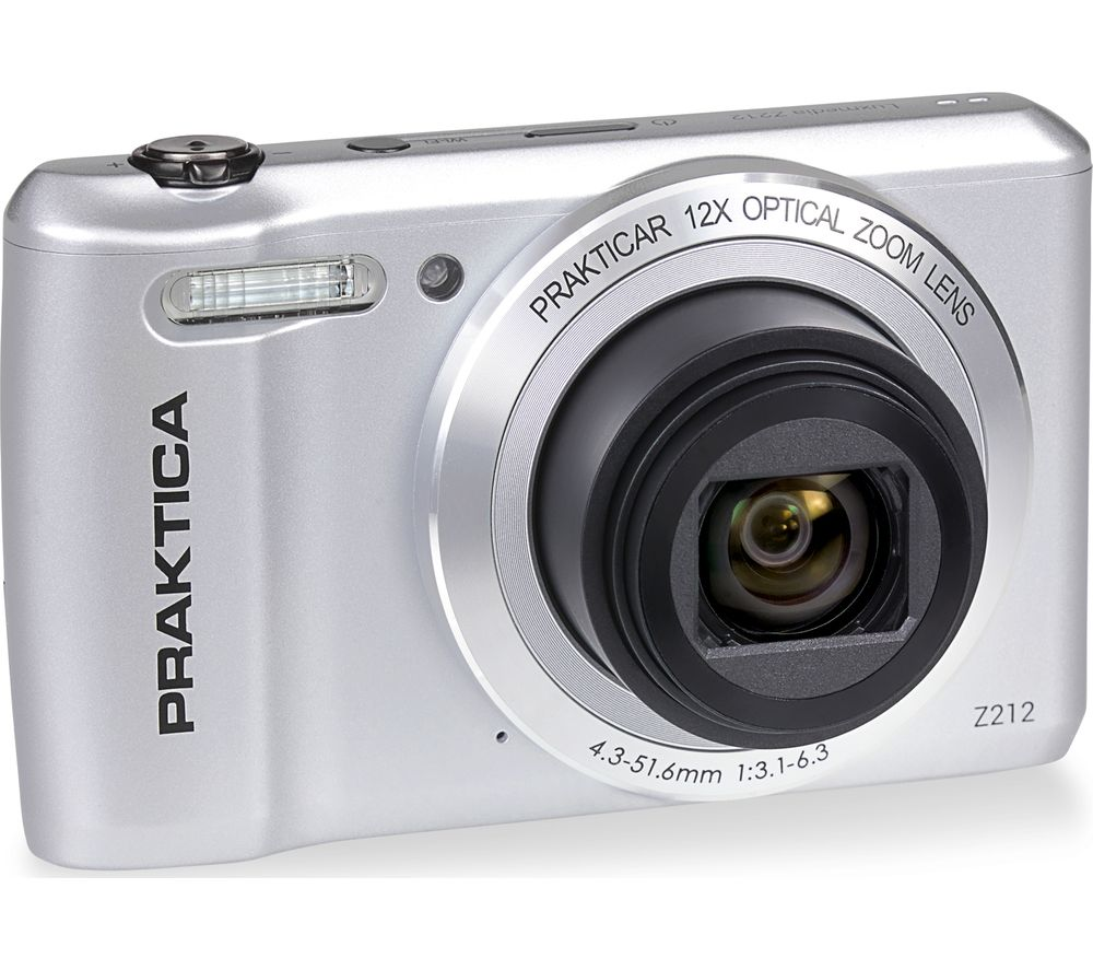 Click to view product details and reviews for Praktica Luxmedia Z212 S Compact Camera Silver Silver.