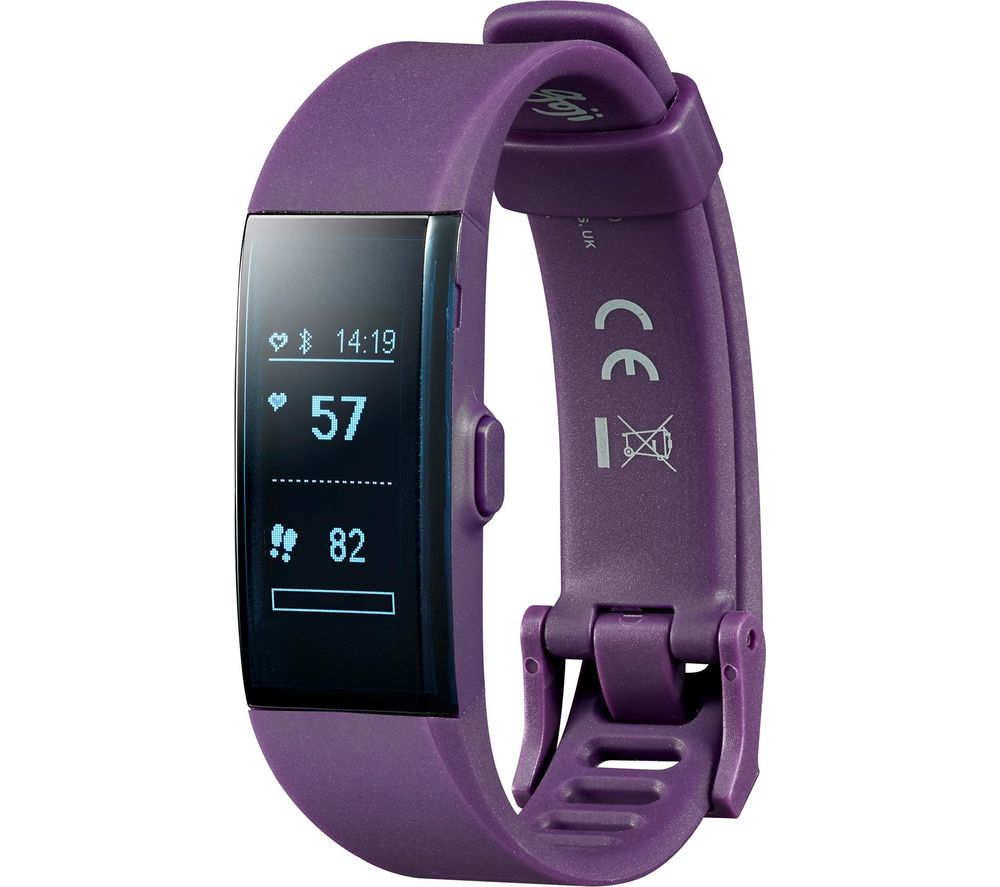 GOJI GO HR Activity Tracker - Purple, Small