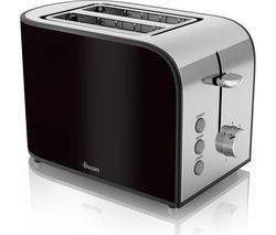 SWAN Townhouse ST17020BLKN 2-Slice Toaster - Black