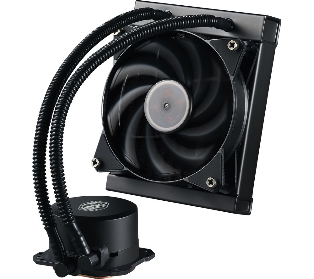 COOLER MASTER MasterLiquid Lite 120 CPU Cooler - White LED