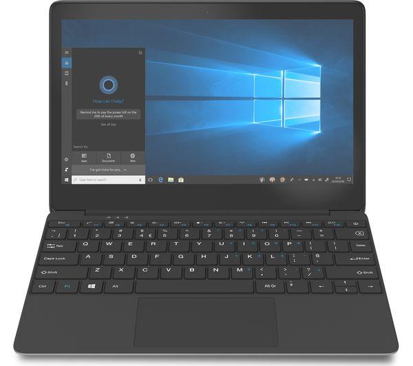 "Image of GEO Book 1M 11.6"" Intel® Celeron® Laptop - 32 GB eMMC, Silver"