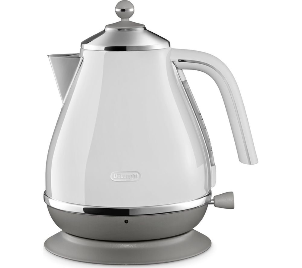 DELONGHI Icona Capitals KBOC3001.W Jug Kettle - White