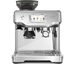 SAGE The Barista Touch Bean to Cup Coffee Machine - Stainless Steel & Chrome Best Price, Cheapest Prices