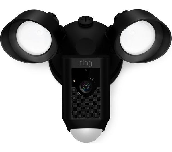 Buy Ring Floodlight Cam Amp Video Doorbell 2 Bundle Black