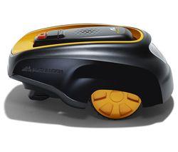 MCCULLOCH ROB R600 Cordless Robot Lawn Mower - Black & Yellow
