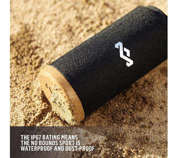HOUSE OF MARLEY No Bounds Sport EM-JA016-SB Portable Bluetooth Speaker -  Black