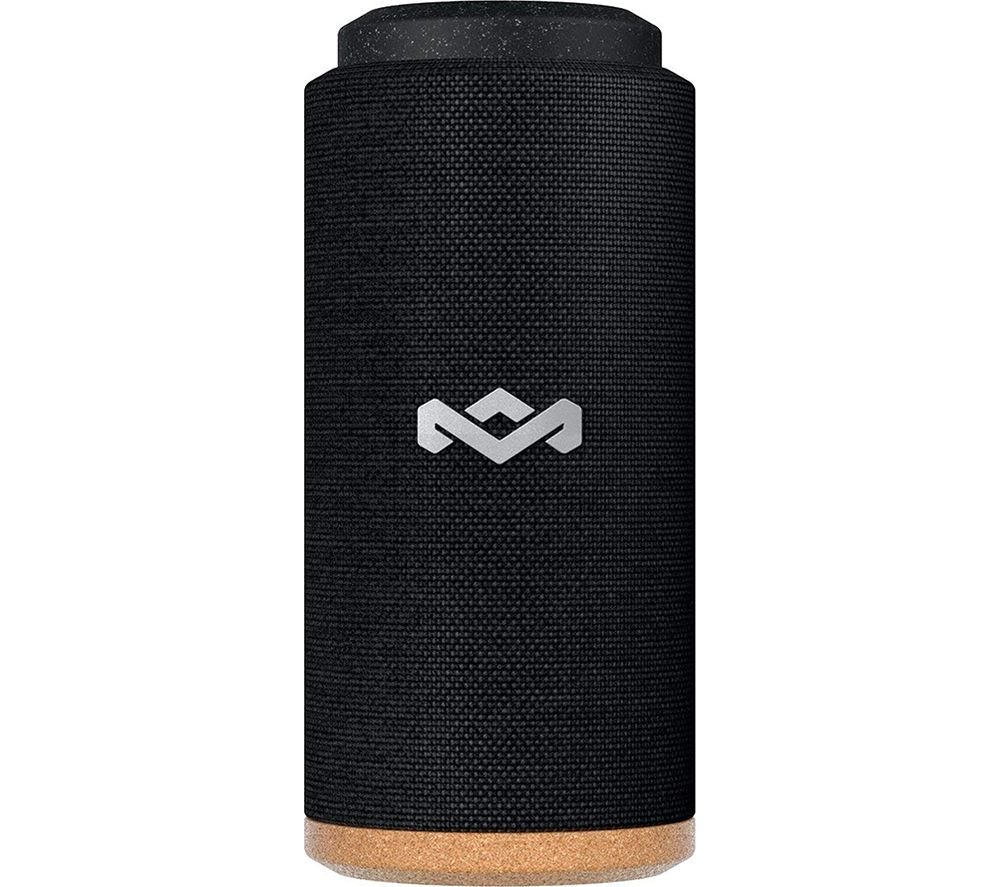 Image of House Of Marley No Bounds Sport EM-JA016-SB Portable Bluetooth Speaker - Black, Black