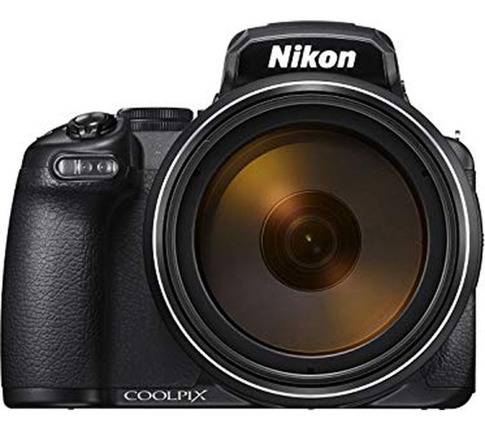 NIKON COOLPIX P1000 Bridge Camera - Black, Black
