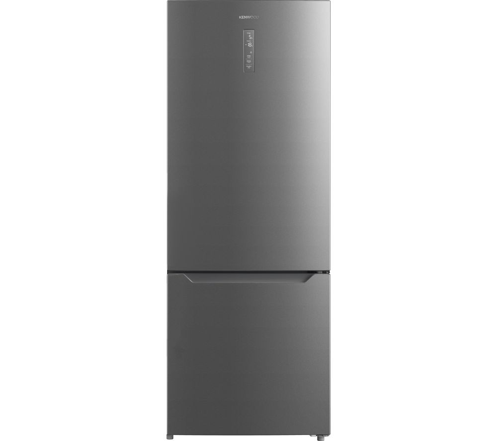 KENWOOD KNF70X19 70/30 Fridge Freezer - Silver, Silver