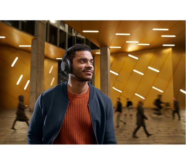 d5ff8de3601 JABRA Elite 85H Wireless Bluetooth Noise-Cancelling Headphones - Titanium  Black