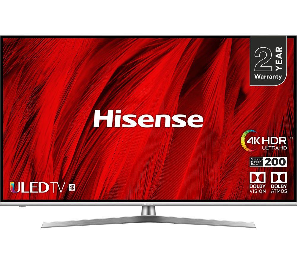 """HISENSE H55U8BUK 55"""" Smart 4K Ultra HD HDR LED TV"""