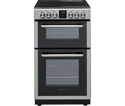 KENWOOD KTC506S19 50 cm Electric Ceramic Cooker - Silver Best Price, Cheapest Prices
