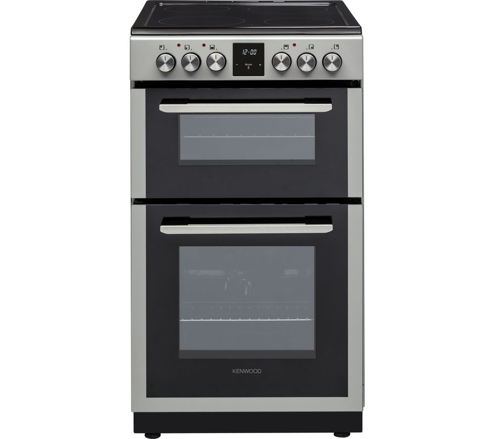 KENWOOD KTC506S19 50 cm Electric Ceramic Cooker - Silver