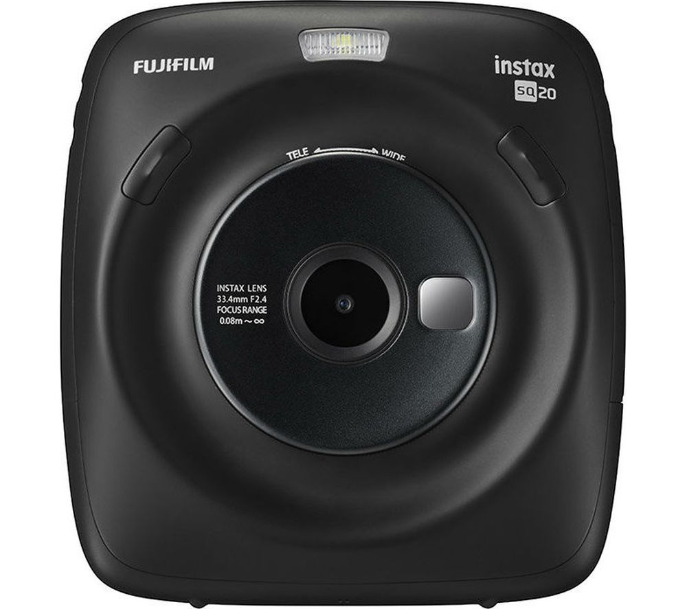INSTAX SQUARE SQ20 Digital Instant Camera - Black