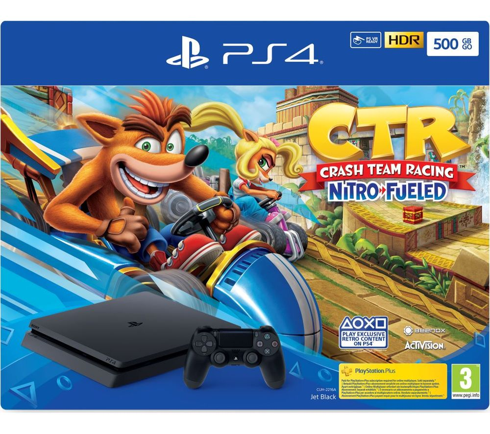Buy SONY PlayStation 4 with Crash Team Racing - 500 GB | Free