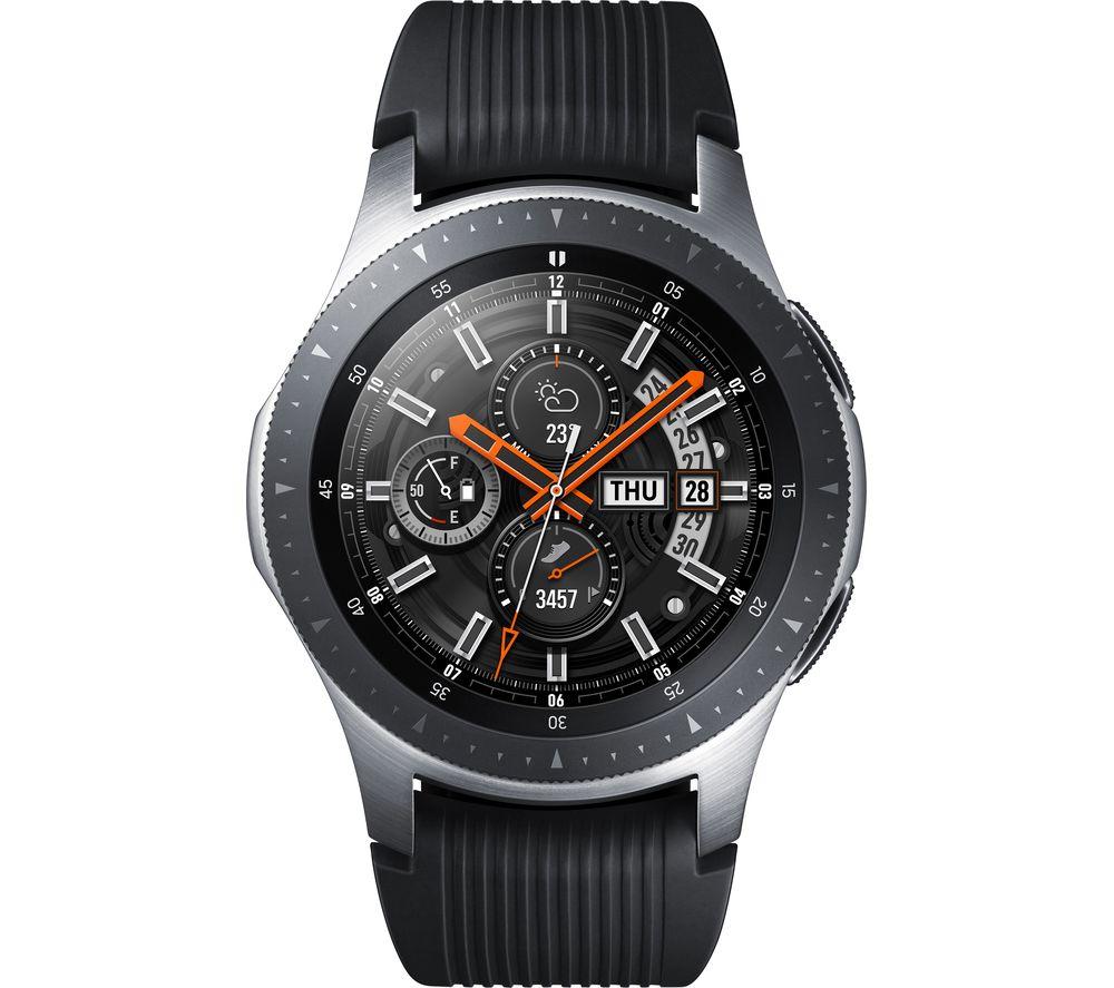 SAMSUNG Galaxy Watch 4G - Silver, 46 mm