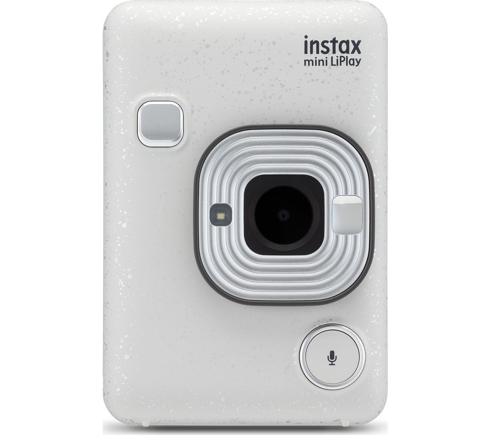 INSTAX LiPlay Digital Instant Camera – White, White