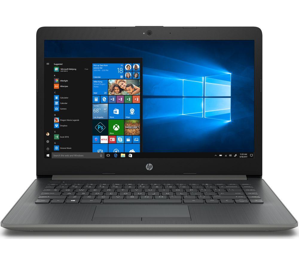 "HP 14-ck0987na 14"" Intel® Core™ i3 Laptop - 128 GB SSD, Grey"